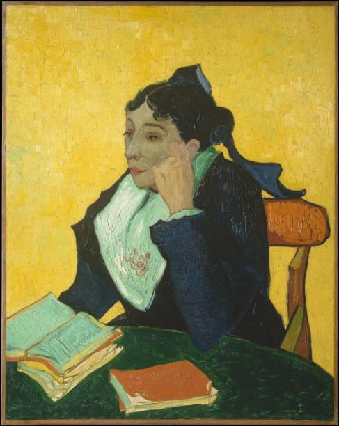 LArlésienne: Madame Joseph-Michel Ginoux (detalhe), Vincent van Gogh, um dos destaques do Metropolitan Museum of Art de Nova York