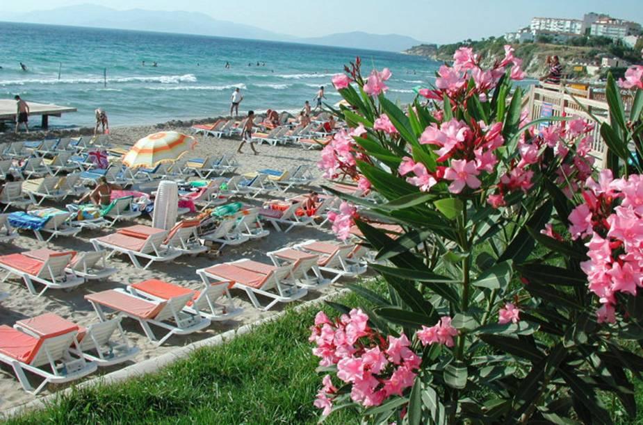 A Ladies Beach, em Kuşadası