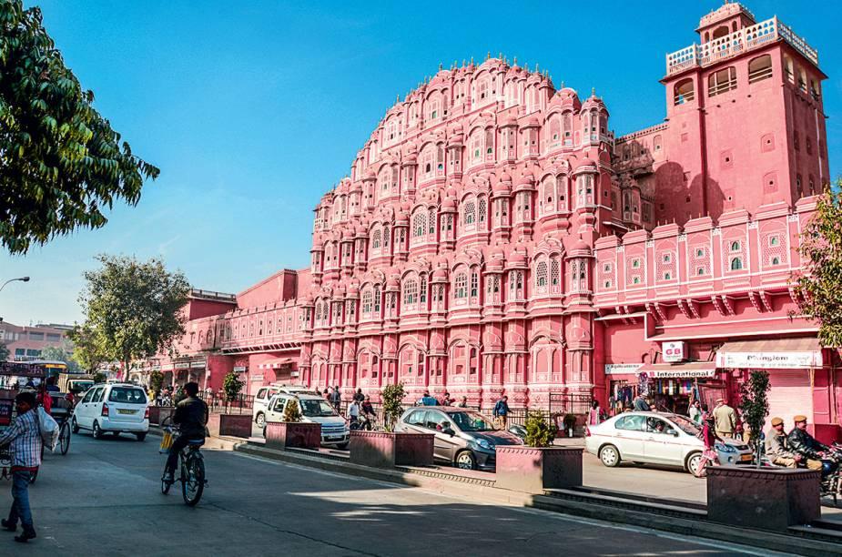 O centrinho rosado de Jaipur
