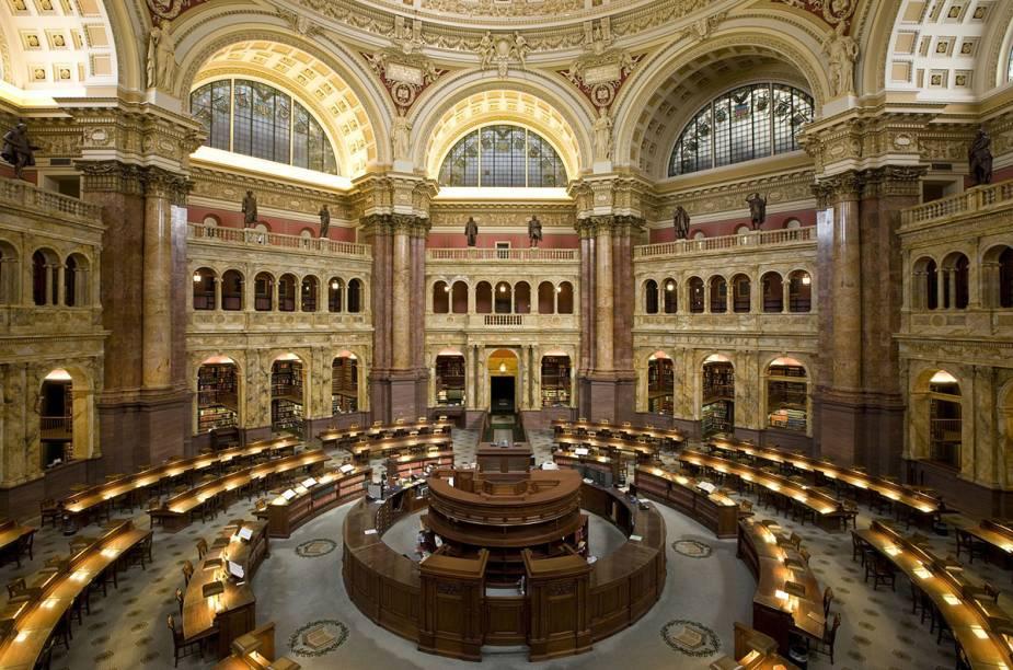 A Biblioteca do Congresso. Vale a viagem