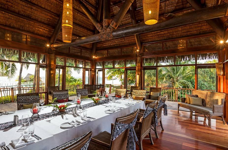 Restaurante do Likuliku Lagoon Resort