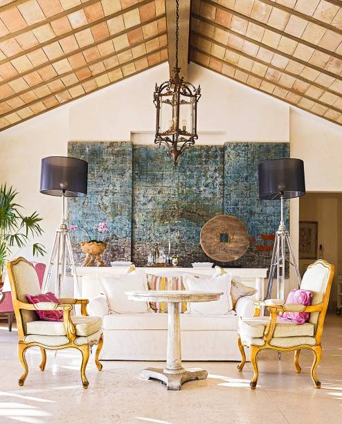 Ambiente do luxoso St. Regis, em Punta Mita