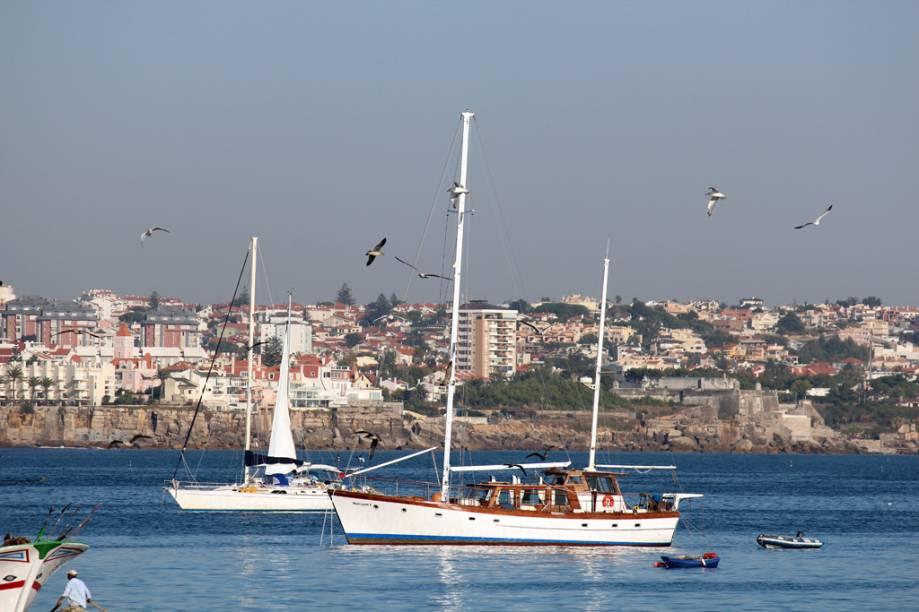 """Fim de tarde em Cascais, <a href=""""http://viajeaqui.abril.com.br/paises/portugal"""" rel=""""Portugal"""" target=""""_self"""">Portugal</a>"""
