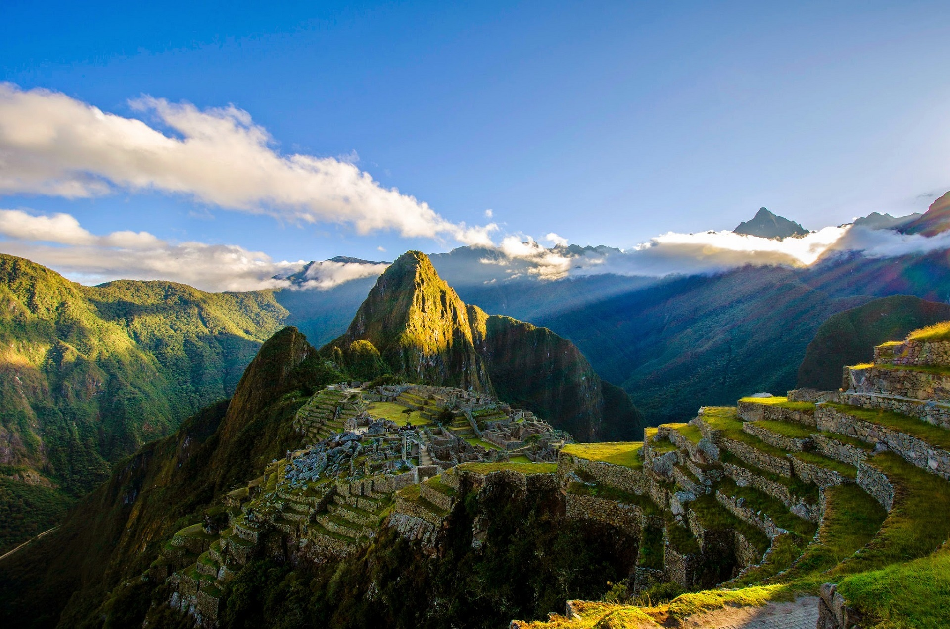 Machu Picchu Peru Panorâmica