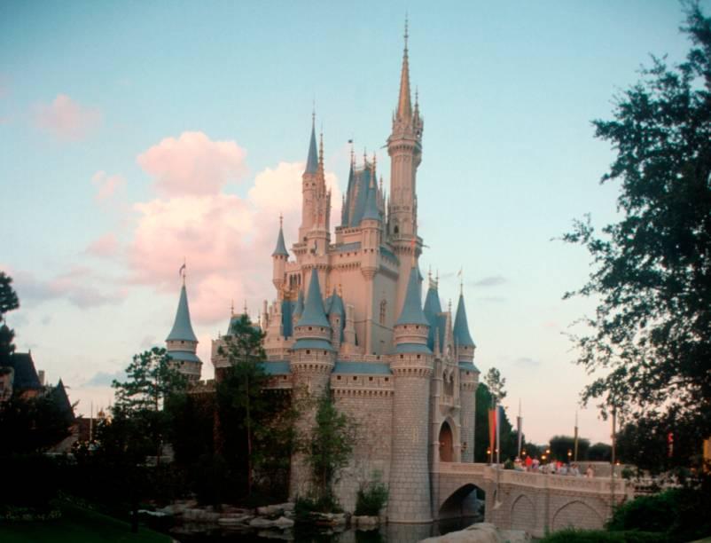 O Castelo da Cinderela no Magic Kingdom, o principal símbolo do Walt Disney World