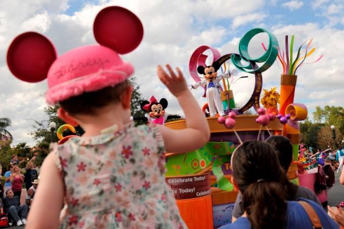 Magic Kingdom Parade Walt Disney World Resort Orlando EUA