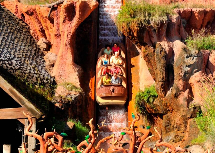 Splash Mountain, um clássico no Magic Kingdom