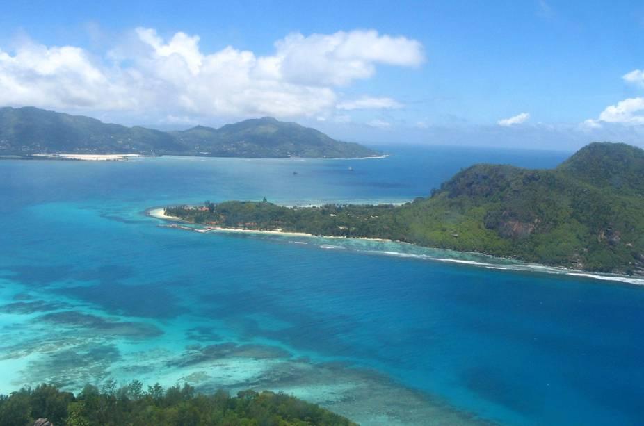 Mahé é a área com maior concentração de serviços em Seychelles