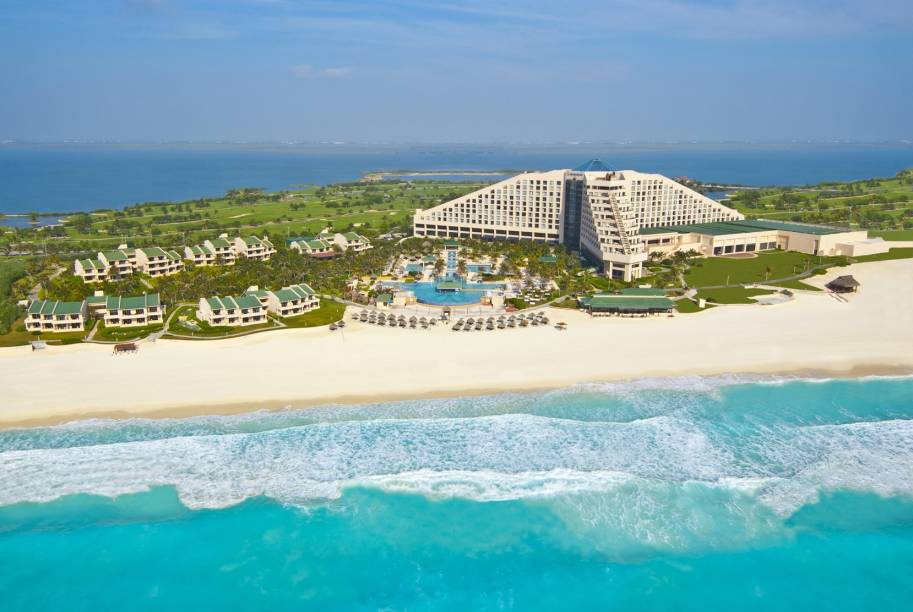 Vista aérea do Iberostar Cancun, México