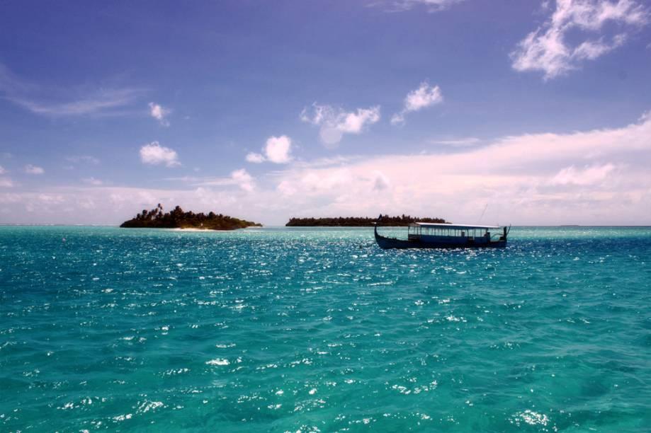 Maldivas, Oceano Índico