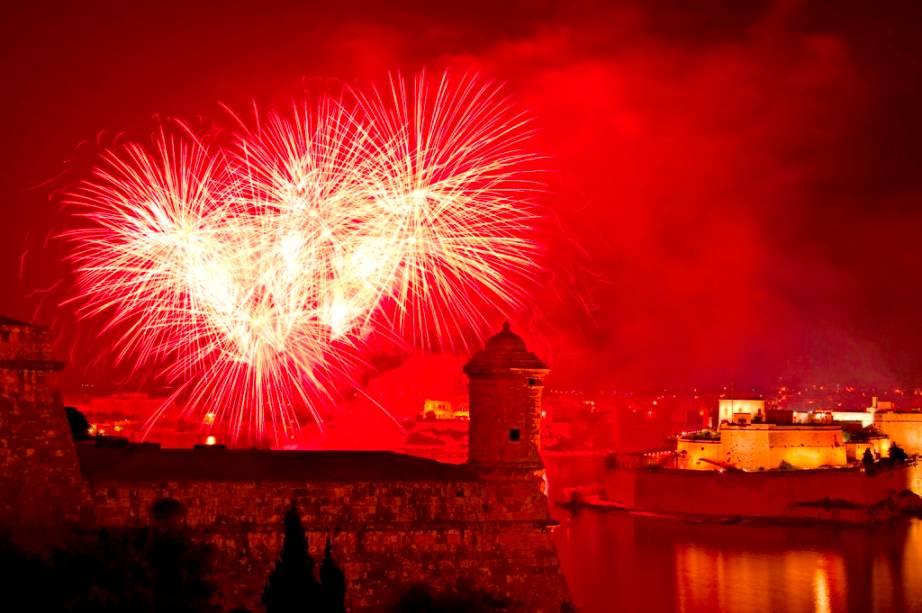 Festival de Fogos de Artifício de Valletta
