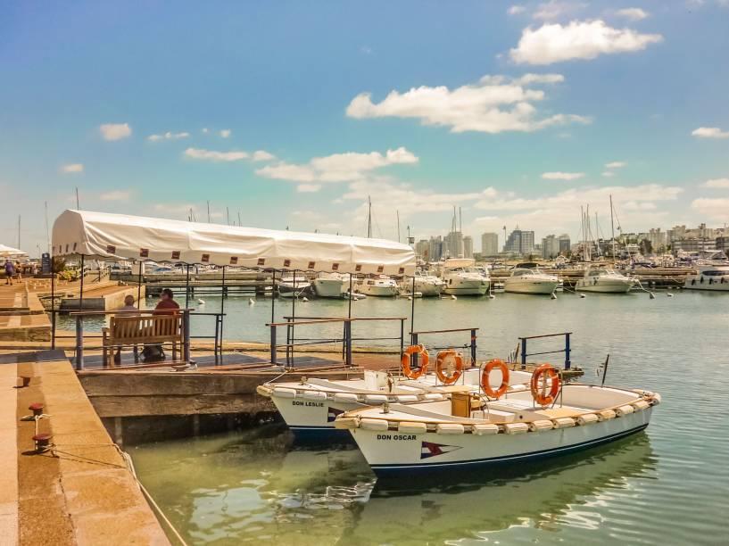 <em>Mañana Soleada en el Puerto de Punta del Este</em>, foto de Daniel Ferreira Leites