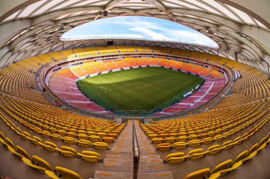 Camarões x Croácia, Estados Unidos x Portugal e Honduras x Suíça, jogarão também na Arena Amazônia