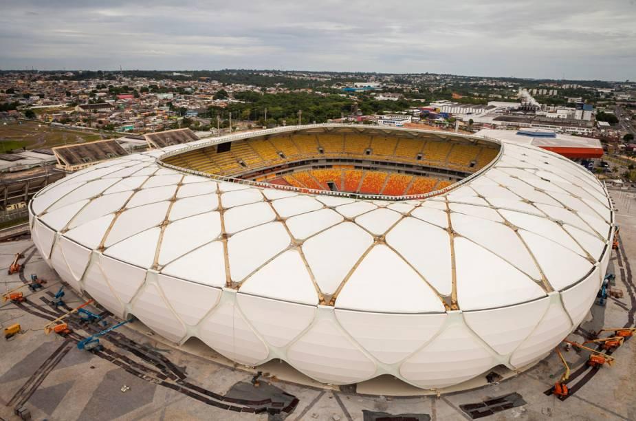 O estádio tem capacidade para mais de 42 mil pessoas