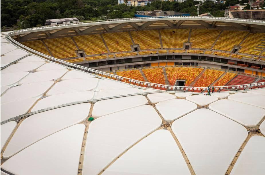 A arena receberá quatro jogos da Copa do Mundo, todos na primeira fase