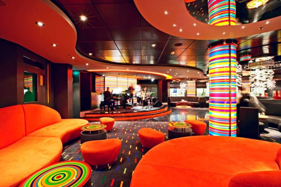 Manhattan Bar do MSC Fantasia