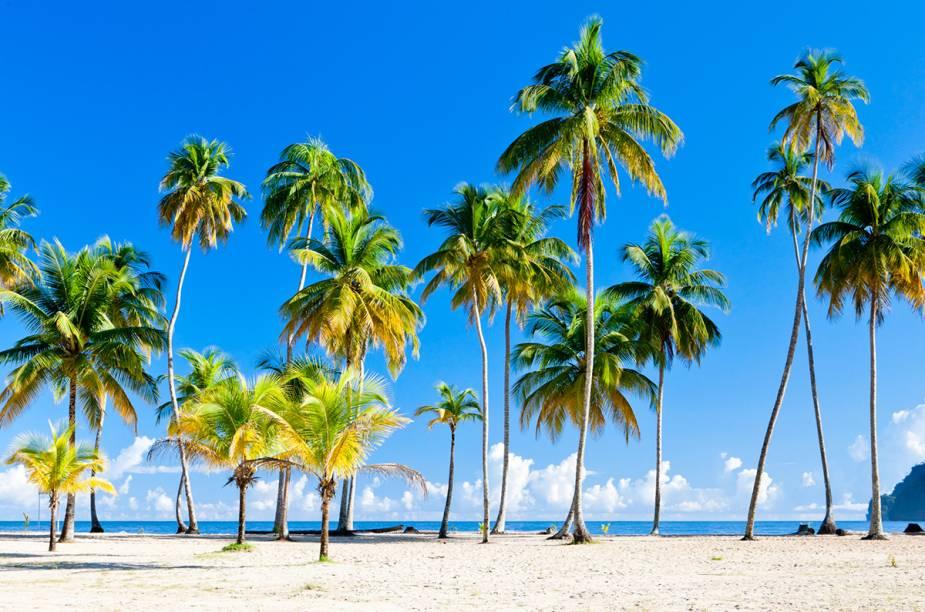 A Praia de Maracas é parada obrigatória para quem visita Trinidad.