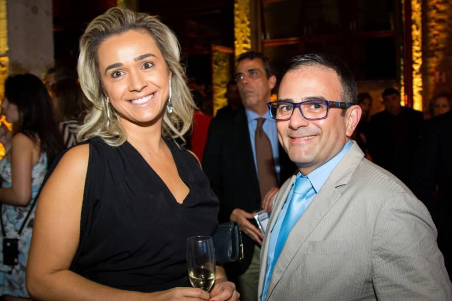 Margareth Silveira e Geninho Goes, da BNT