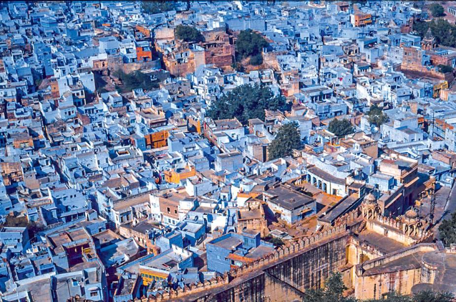 Tudo azul em Jodhpur