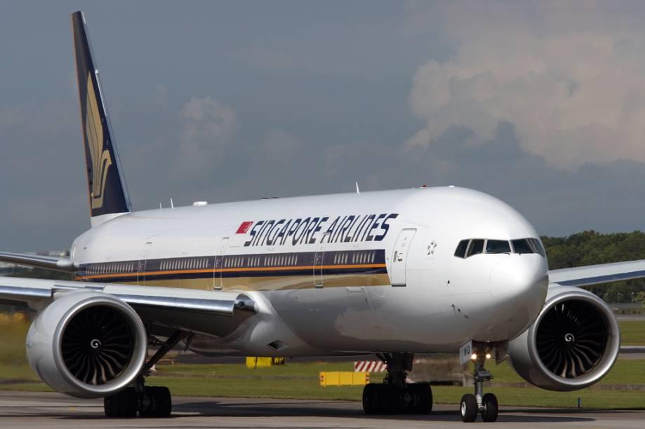 Aeronave da Singapore Airlines