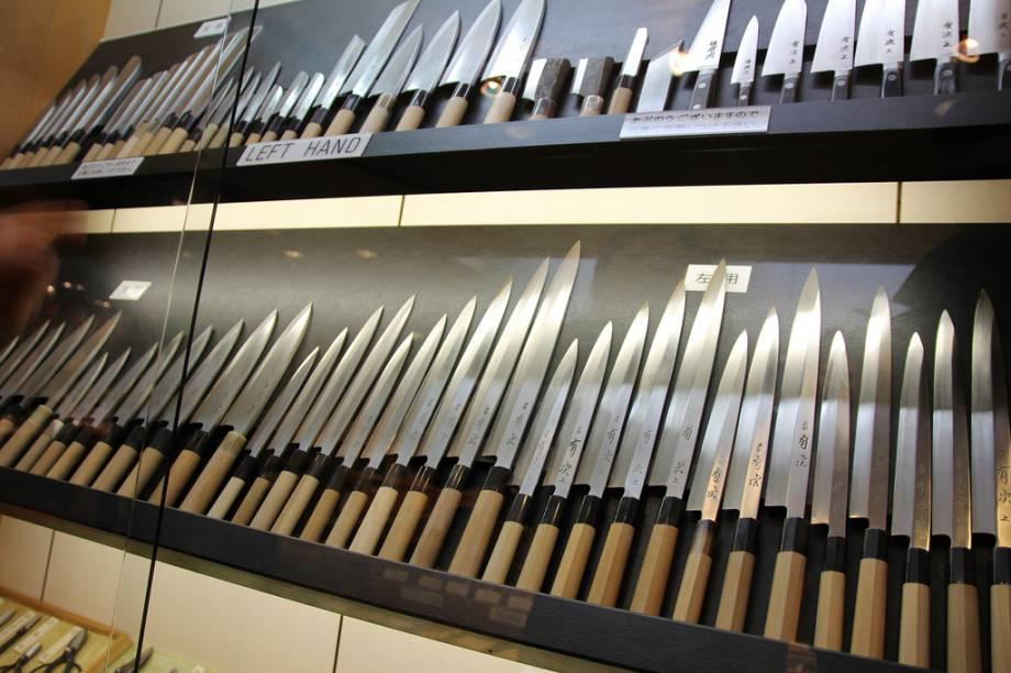 A Aritsugu é uma das lojas mais traidicionais do Mercado Nishiki