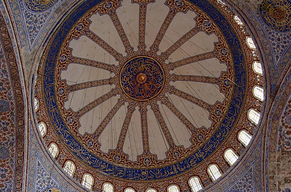 Teto da Mesquita Azul