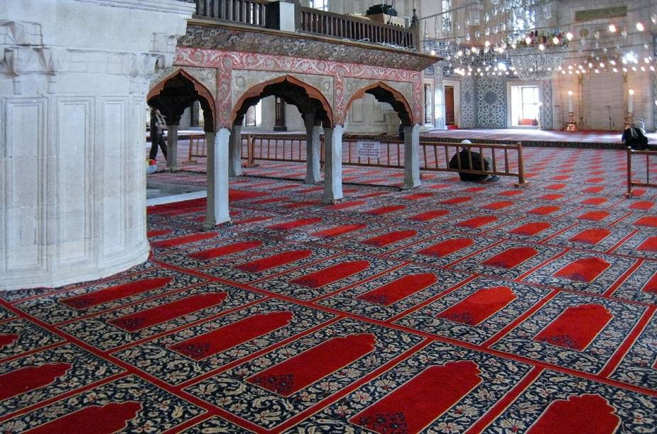 Tapetão da Mesquita de Süleymaniye