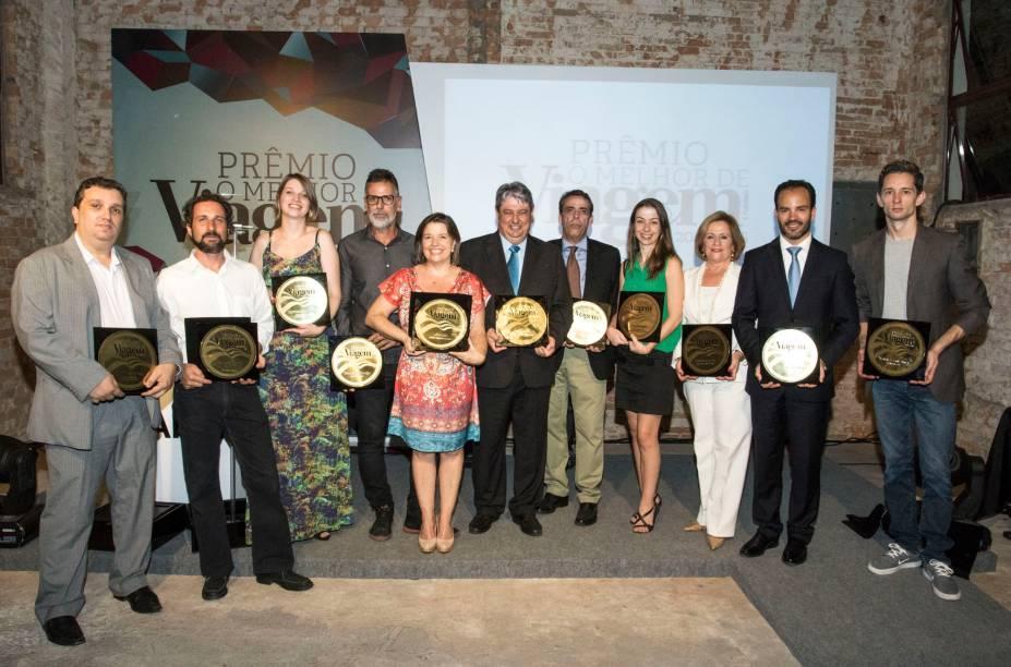 Nesta edição do prêmio O Melhor de Viagem e Turismo, 10 categorias foram eleitas por um júri especializado e 13 pelo voto popular. Já o vencedor da categoria Inovação foi escolhido pela própria redação da revista