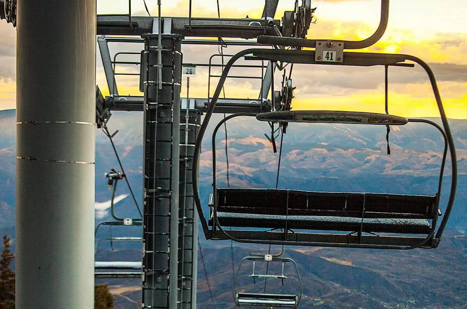 A estrutura consolidada atrai brasileiros para o resort de esqui mais conhecido em terras verde-e-amarelas