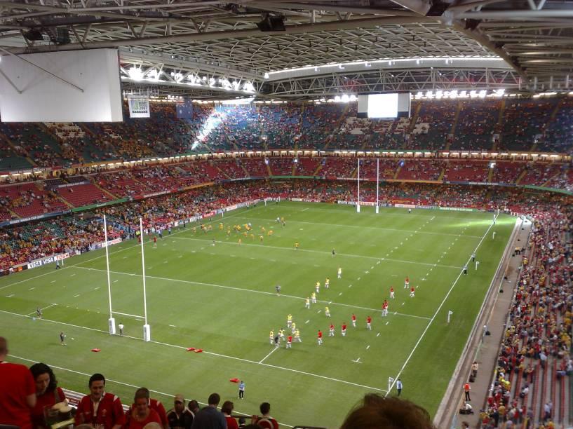 Com capacidade para mais de 70 mil pessoas, o Estádio Millenium, localizado em Cardiff, é considerado o principal estádio do País de Gales, pertencente à Seleção Galesa de Rugby