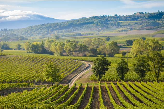 Montalcino, Toscana, Itália