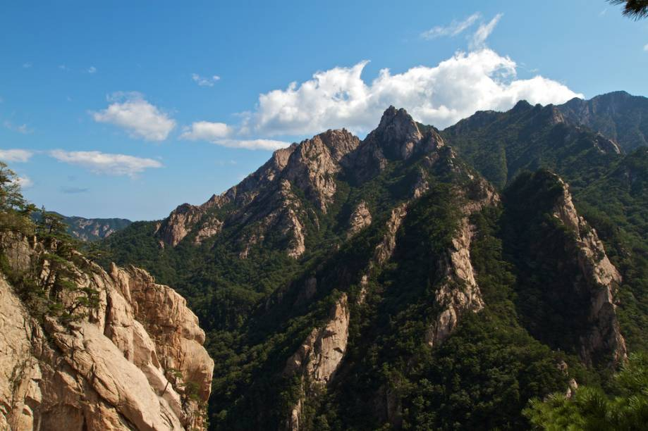 Monte Seoraksan, em Sokcho