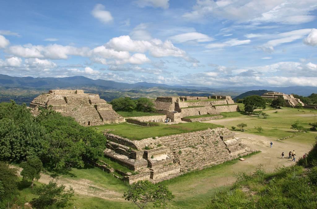 Ruínas de Monte Alban, em Oaxaca, México