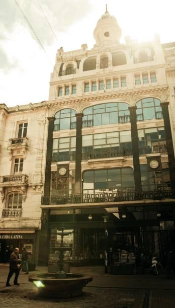 A fachada da livraria Puro Verso, na Sarandí