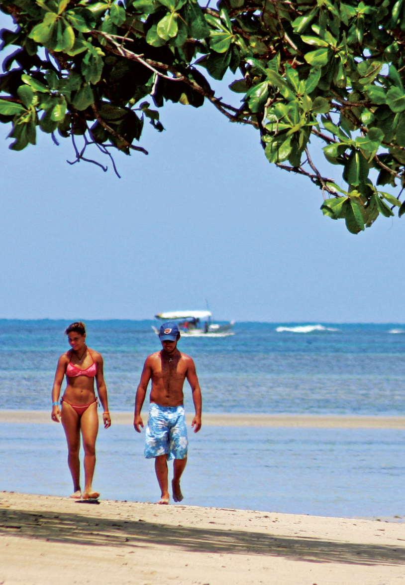 Praia Moreré, Ilha de Boipeba, Bahia