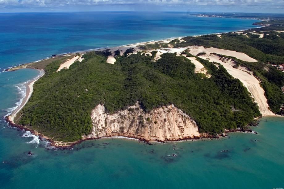 Morro do Careca, no bairro de Ponta Negra, em Natal, Rio Grande do Norte