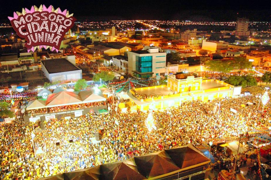 São esperadas mais de 1 milhão de pessoas na edição de 2012 do Mossoró Cidade Junina