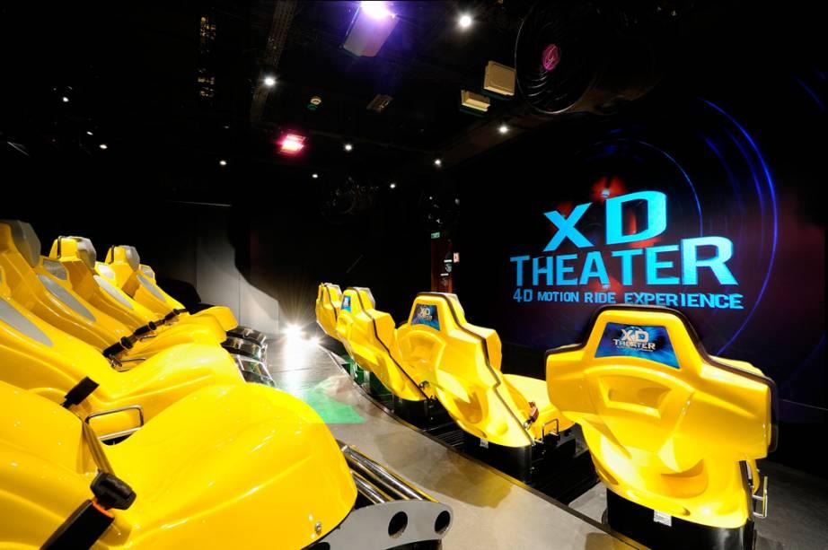 Cinema 4D do navio de cruzeiros Fantasia, da companhia MSC Cruzeiros.
