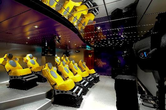 Cinema 4D diverte os hóspedes