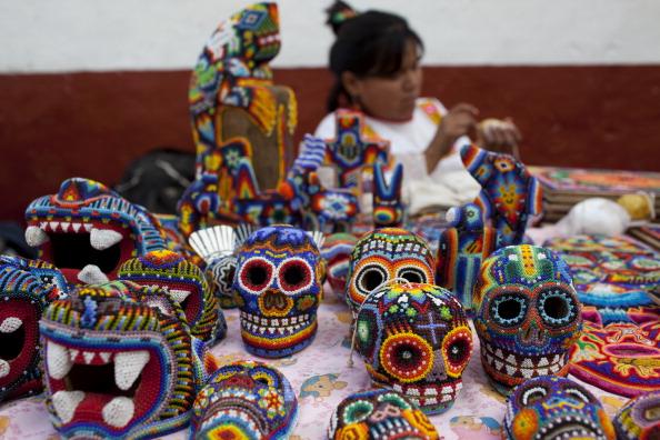 Os preparativos para o Dia dos Mortos em Patzcuaro, no México