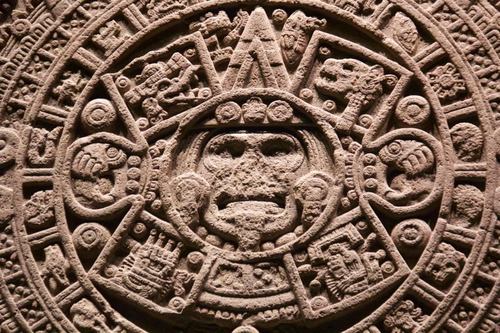 Museo Nacional de Antropología Cidade do México Pedra do Sol