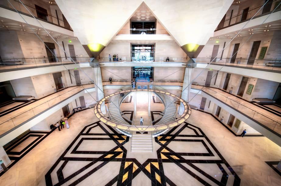 <strong>Museu de Arte Islâmica, Doha, Qatar</strong>            O museu é uma ode arquitetônica à cultura e artes islâmicas e já é um ícone da cidade de Doha