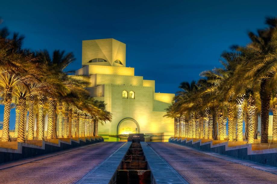 Museu de Arte Islâmica, um projeto do arquiteto sino-americano Ieoh Ming Pei