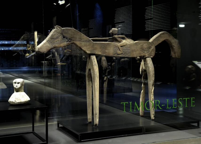 O Museu do Oriente possui bela curadoria, resgatando um pouco da história dos lusitanos na Ásia