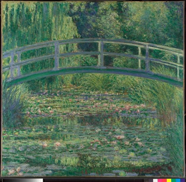 <em>The Water-Lily Pond</em>, de Claude Monet, National Gallery