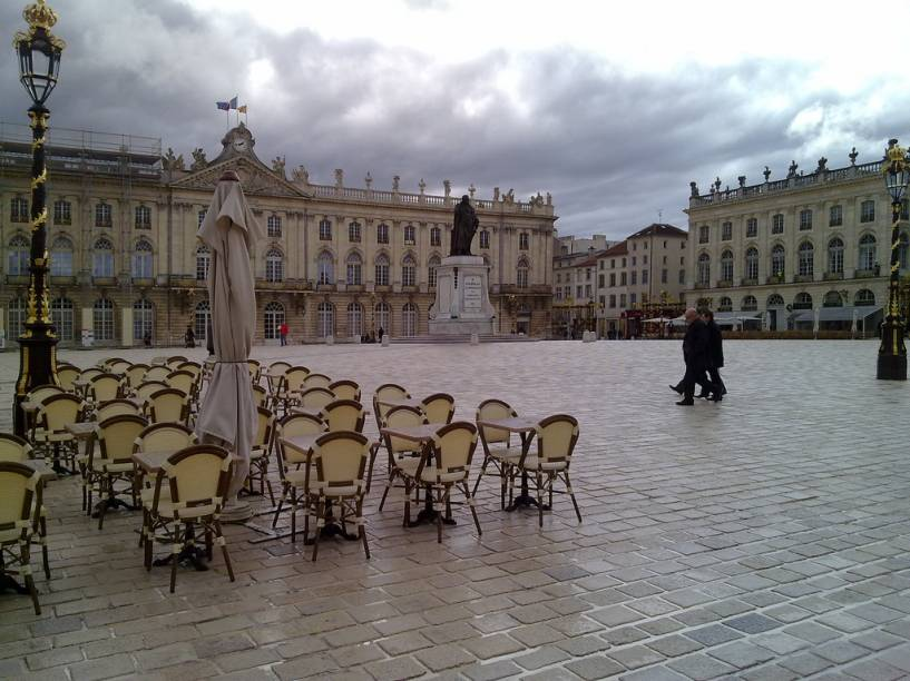 Praça em Nancy