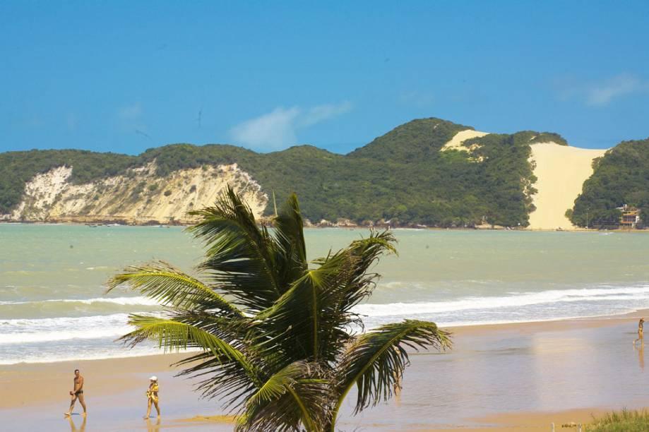 Democrática: Praia de <strong>Ponta Negra</strong>