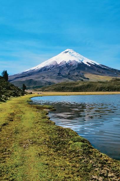 O gigante, o maioral,o colosso Cotopaxi,o vulcão ativo maisalto do Equador