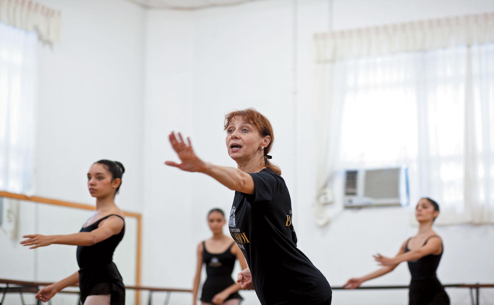 Balé Bolshoi - Professora russa