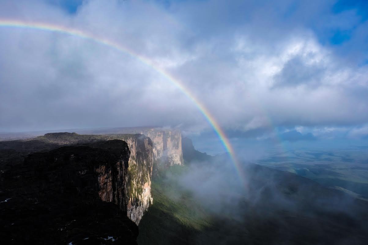 Fim de tarde no Monte Roraima, Venezuela.